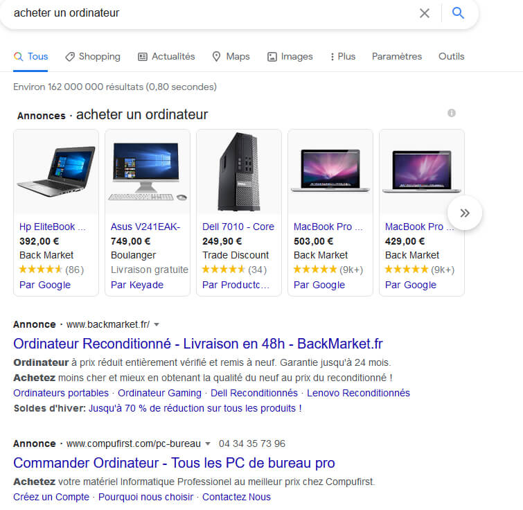indexer son site sur google SEA, pourquoi mon site n'apparait pas sur google, être visible sur les anonces google, référencement payant